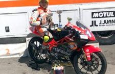 Jesús Torres, campeón de España de minivelocidad en Valencia