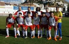 Un Antequera con nueve jugadores empata en Martos en el último minuto