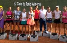 La tenista Natalia Collado vence en Almería, el club Fuente del Rey se impone en Rubí