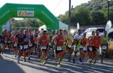 Fernando López y Sonia Navío se imponen en Vilches, donde el CD Bujarkay participó con 16 atletas