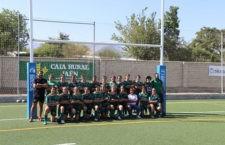 Estreno triunfal para las chicas de Jaén Rugby. Foto: Jaén Rugby.
