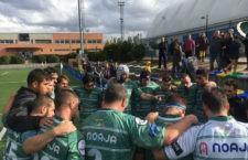 El equipo jiennense se sitúa en mitad de la tabla. Foto: Jaén Rugby.
