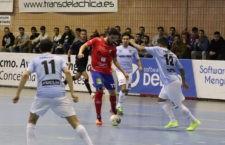 El Mengíbar FS gana confianza con su victoria frente al Soliss Talavera