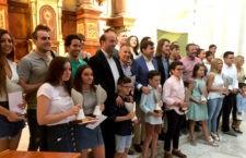 Los campeones del circuito posan con sus respectivos galardones. Foto: Diputación de Jaén.