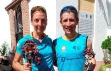Mudarra y Martínez, campeones absolutos en la VI Carrera de la Uva
