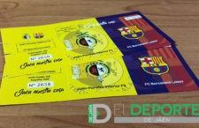 Sorteo de dos entradas para asistir al Jaén FS – FC Barcelona
