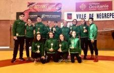 Seis oros y cuatro platas en Francia para los integrantes del Club de Luchas Olímpicas de Torredelcampo