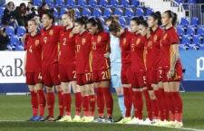 La futbolista jiennense ha completado los noventa minutos del choque. Foto: RFEF.