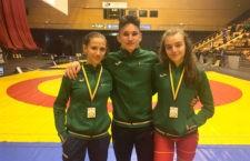 Un oro y una plata para los deportistas del Club de Luchas de Torredelcampo en el 'Trophée des Volcans'