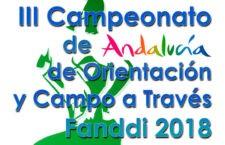 Linares acoge el Campeonato de Andalucía de Orientación y Campo a través FANDDI