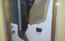 Desperfectos provocados en Las Fuentezuelas. Foto: Ayto. Jaén.