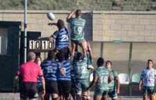 Los jiennenses, derrotados con claridad frente a CAR Cáceres. Foto: Jaén Rugby.