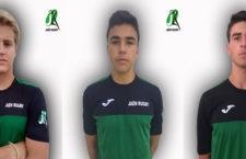 Eduardo Sánchez, Luis Moriana y Javier Sánchez repiten convocatoria con la selección andaluza de rugby