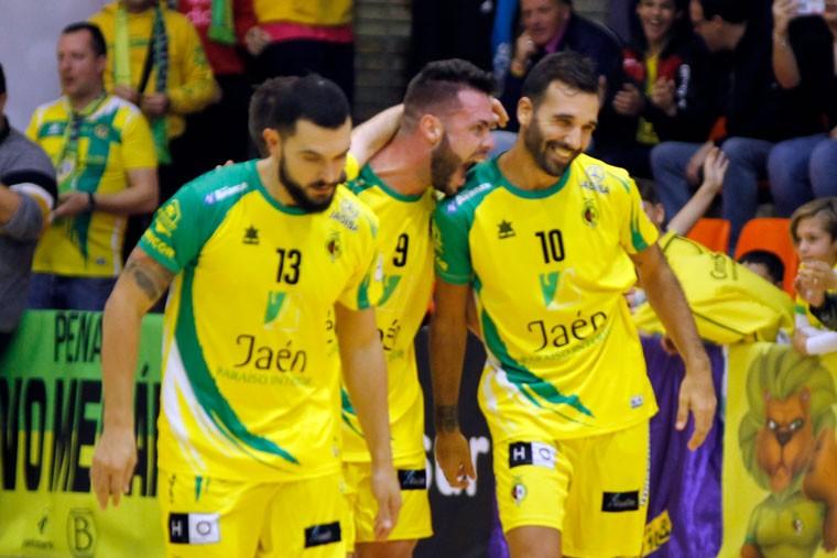 El Jaén FS arrasa con el Levante