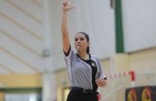 La colegiada linarense continúa sumando experiencias en el mundo del arbitraje. Foto: FAB Jaén.