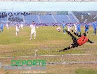 Empate entre Real Jaén y El Palo en un partido de máximo esfuerzo