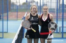 La joven jiennense cierra su temporada en el Murcia Open. Foto: World Padel Tour