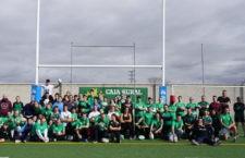Deporte y diversión, protagonistas de la jornada. Foto: Jaén Rugby.