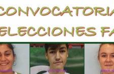 Tres cadetes jiennenses en la preselección de las selecciones andaluzas de baloncesto masculina y femenina