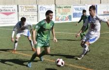 Vitu durante un partido con el club verde. Foto: Atco. Mancha Real.