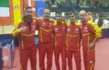El joven linarense Carlos Caballero debuta con la selección española absoluta de tenis de mesa