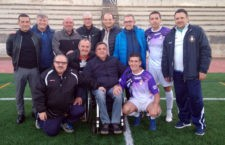 David Ordóñez recibe un emotivo homenaje de los veteranos del Real Jaén y del CD Jaén 81