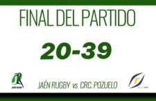 Derrota del Jaén Rugby ante Pozuelo para cerrar la primera vuelta en la séptima plaza