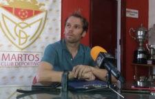 Juan Cortés abandona la disciplina del Martos CD. Foto: Twitter Juan Cortés.
