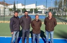 Andújar cuenta con unas nuevas pistas de tenis con una inversión de 110.000 euros