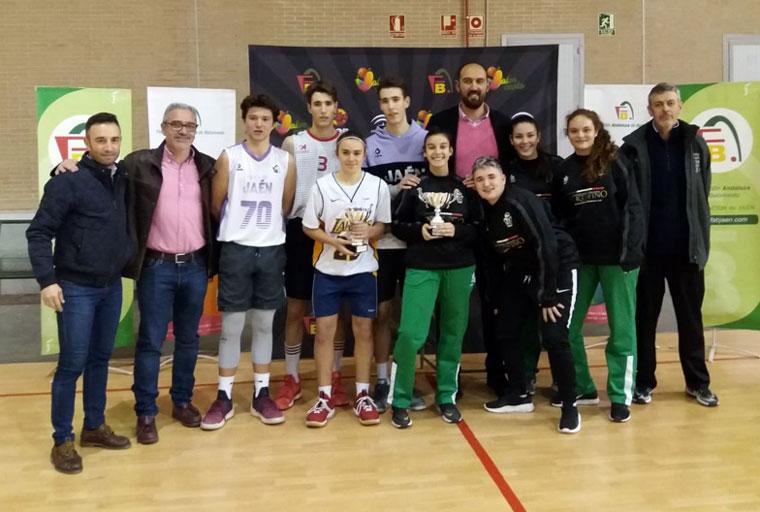 Ganadores del 3x3 Jaén U18