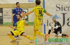 Plácida victoria del Jaén FS ante el Valdepeñas