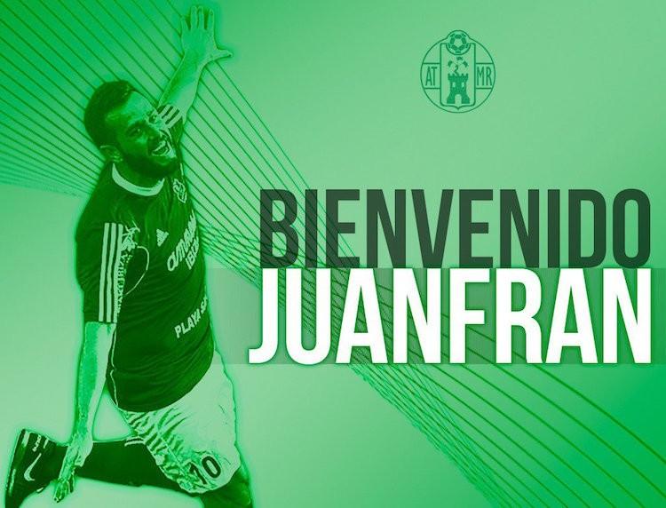 El Atlético Mancha Real da la bienvenida a Juanfran