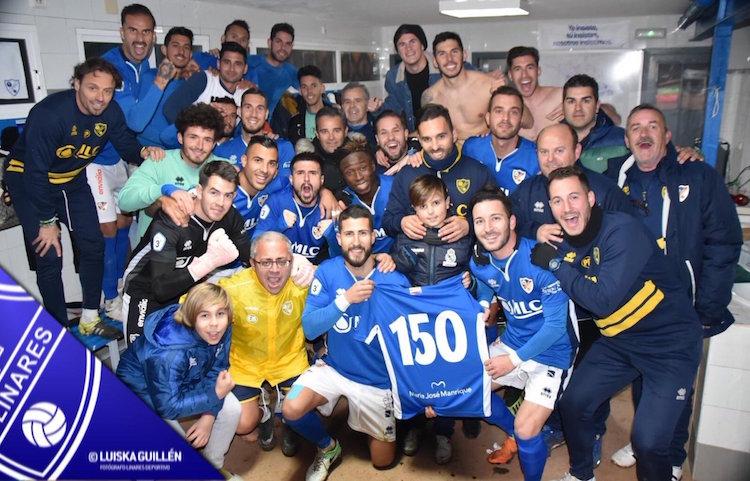 Chendo lidera la goleada del Linares Deportivo al Guadix