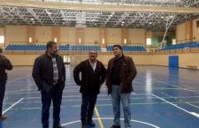 La cubierta del pabellón de Marmolejo se cambia en su totalidad tras una inversión de 73.000 euros de Diputación