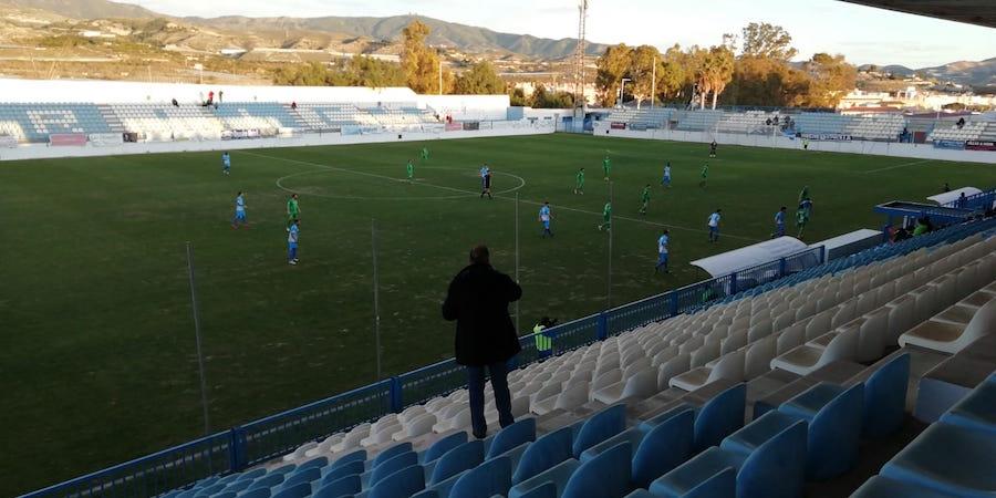 Estadio Escribano Castilla durante el Motril - Atlético Mancha Real