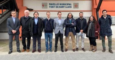 Reunión para la organización de la Copa de España Valencia 2019
