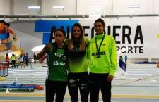 Excelentes resultados del club jiennense en el torneo andaluz. Foto: Unicaja Atletismo.