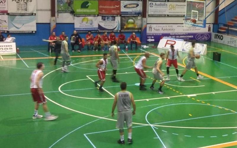 Lance del partido disputado por el CB Andújar