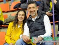 La afición en La Salobreja (Jaén FS-Segovia Futsal)