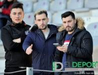 La afición en La Victoria (Real Jaén-Vélez CF)
