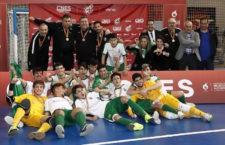 Tres jiennenses, campeones de España con la Andaluza Sub-19 de fútbol sala