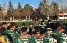 El quince jiennense sigue una jornada más ocupando la cuarta posición. Foto: Jaén Rugby.