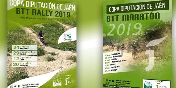 Ya se conocen las fechas de la Copa Diputación de Jaén BTT Rally y BTT Maratón 2019