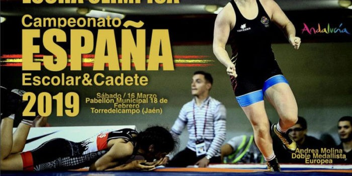 Torreldecampo, sede del Campeonato de España Escolar y Cadete de Luchas Olímpicas