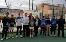 El Club de Tenis Villargordo celebra el Campeonato Provincial Juvenil