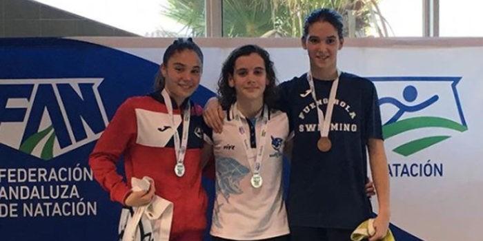 Gádor Luque fue una de las grandes destacadas del campeonato. Foto: CN Santo Reino.