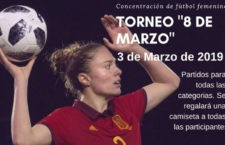 Alcaudete promociona el fútbol femenino con un torneo con motivo del Día de la Mujer