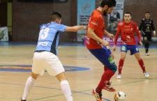 Gran actuación de Buendía, que anotó cuatro goles. Foto: Mengíbar FS.