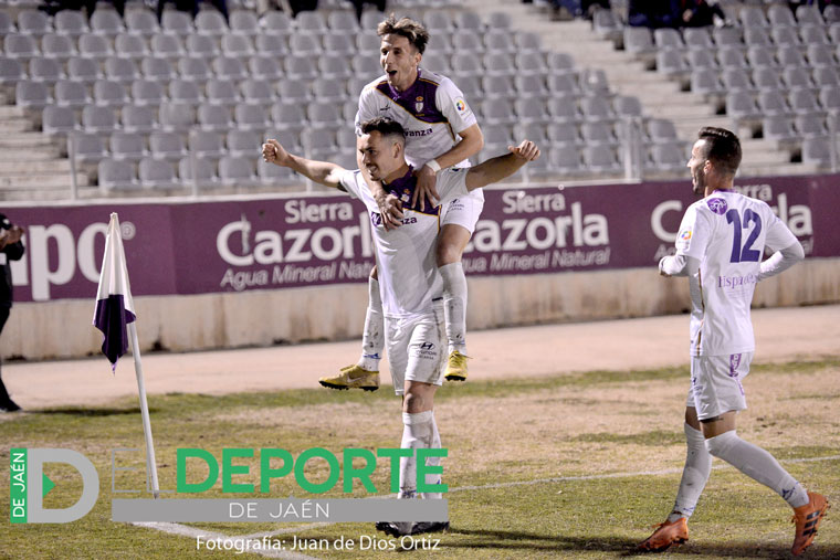 Antonio López volvió a anotar en el partido frente al Atarfe