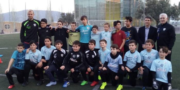 El campo de fútbol de la capital jiennense vuelve a estar operativo. Foto: Ayto. Jaén.